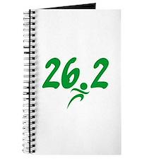 Green 26.2 Marathon Journal