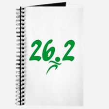 Green 26.2 Marathon Journal