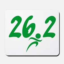 Green 26.2 Marathon Mousepad