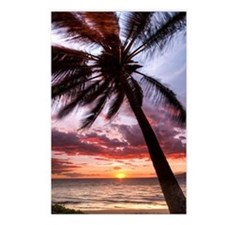 Palm Tree Sunset Maui Postcards (Package of 8)