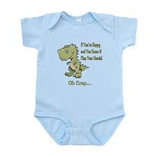 Happy TRex Infant Bodysuit