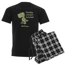 Happy TRex Pajamas