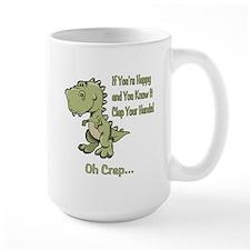 Happy TRex Mug