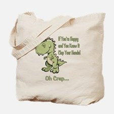Happy TRex Tote Bag