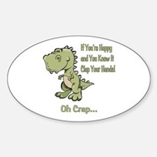 Happy TRex Decal