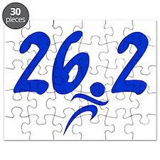 Blue 26.2 Marathon Puzzle