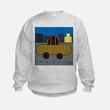 Stripey Car Sweatshirt