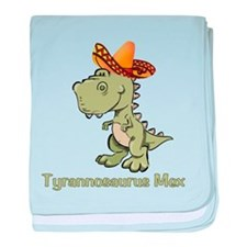 Tyrannosaurus Mex baby blanket
