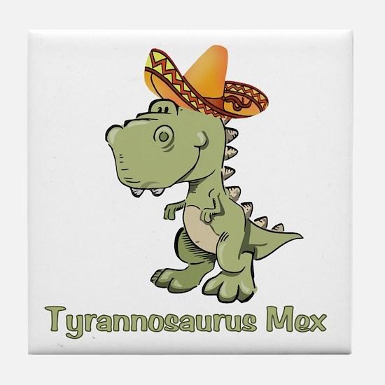 Tyrannosaurus Mex Tile Coaster