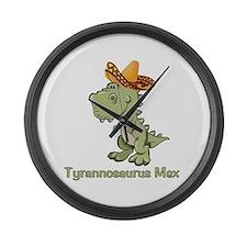 Tyrannosaurus Mex Large Wall Clock