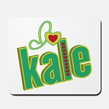 I heart kale Mousepad