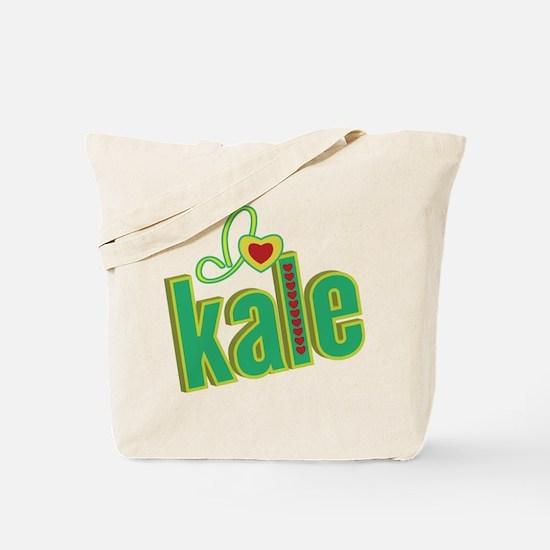 I heart kale Tote Bag