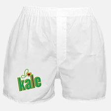 I heart kale Boxer Shorts