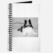 I love my Shetland Sheepdog Journal