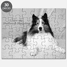I love my Shetland Sheepdog Puzzle