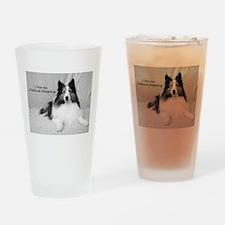 I love my Shetland Sheepdog Drinking Glass