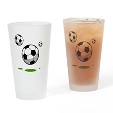 Soccer (8) Drinking Glass