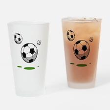 Soccer (8) Drinking Glass