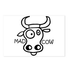 Mad Cow Postcards (Package of 8)