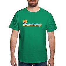 Provincetown MA - Beach Design. T-Shirt
