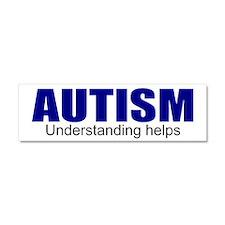 Autism, understanding helps Car Magnet 10 x 3