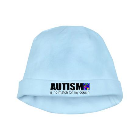 Autism vs my cousin baby hat