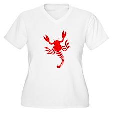 Red Scorpion Design T-Shirt