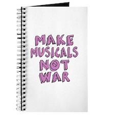 Make Musicals Not War Journal