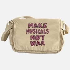 Make Musicals Not War Messenger Bag