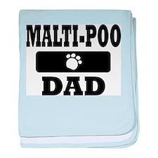 Malti-Poo Dad baby blanket