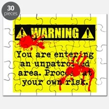 Warning: Unpatrolled Puzzle