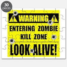 Zombie Kill Zone Puzzle