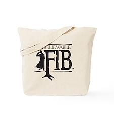 Black FIB logo Tote Bag
