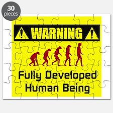 Warning: Fully Developed Huma Puzzle