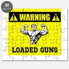 Warning: Loaded Guns Puzzle