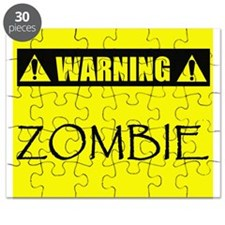 Warning: Zombie! Puzzle