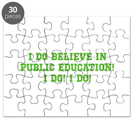 Believe in Public Ed. Puzzle
