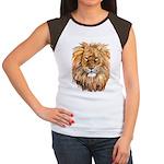 Lion Women's Cap Sleeve T-Shirt