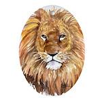 Lion Ornament (Oval)