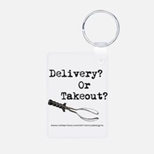 Delivery? Or Takeout? Keychains