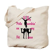 Pole Fitness Tote Bag