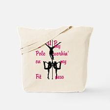Pole Fitness Tote Bag