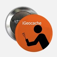 """iGeocache 2.25"""" Button (100 pack)"""