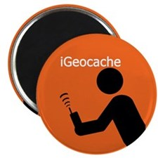 "iGeocache 2.25"" Magnet (10 pack)"