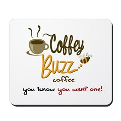 CoffeyBuzz Coffee Mousepad