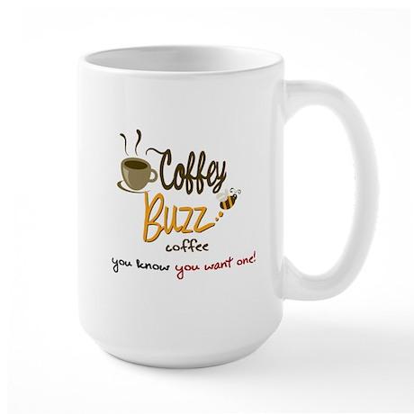 CoffeyBuzz Coffee Large Mug