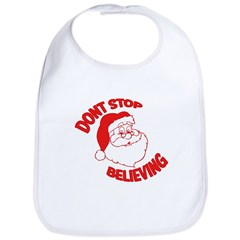 Don't Stop Believing Red Bib