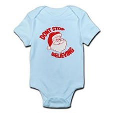 Don't Stop Believing Red Infant Bodysuit