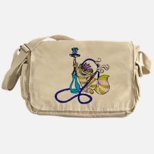 Green Wonderland Messenger Bag