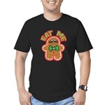 Eat Gingerbread Red Men's Fitted T-Shirt (dark)